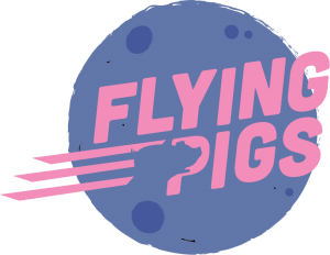 The logo for Flying Pigs Australia PTY LTD.
